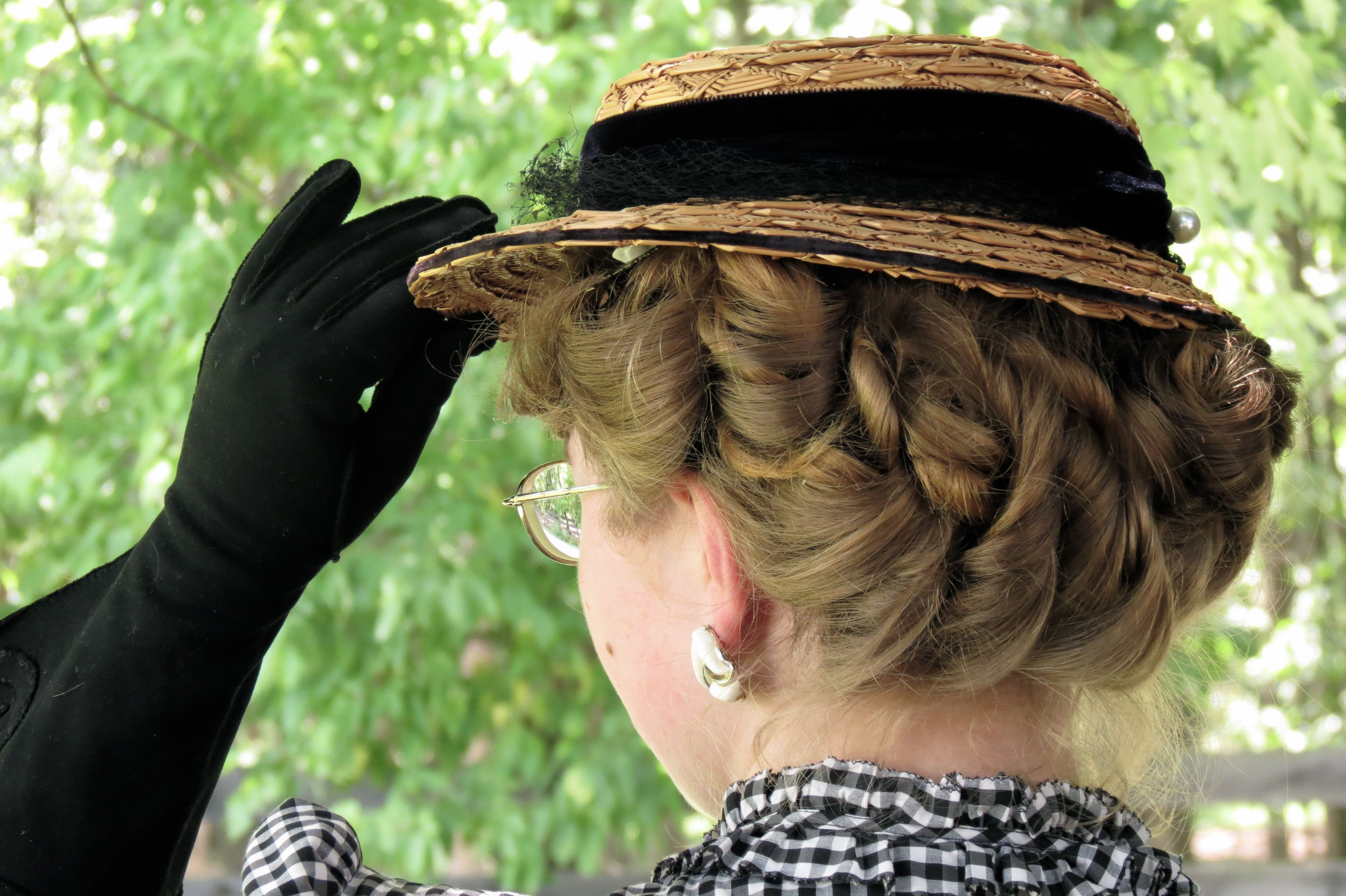 august tutorial 1930s short curled hairstyle for medlong