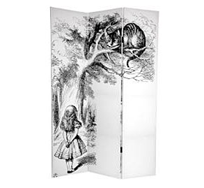 Canvas Double-sided 6-foot Alice in Wonderland Room Divider £140 From Overstock: http://www.overstock.com/Worldstock-Fair-Trade/Canvas-Double-sided-6-foot-Alice-in-Wonderland-Room-Divider-China/4749907/product.html