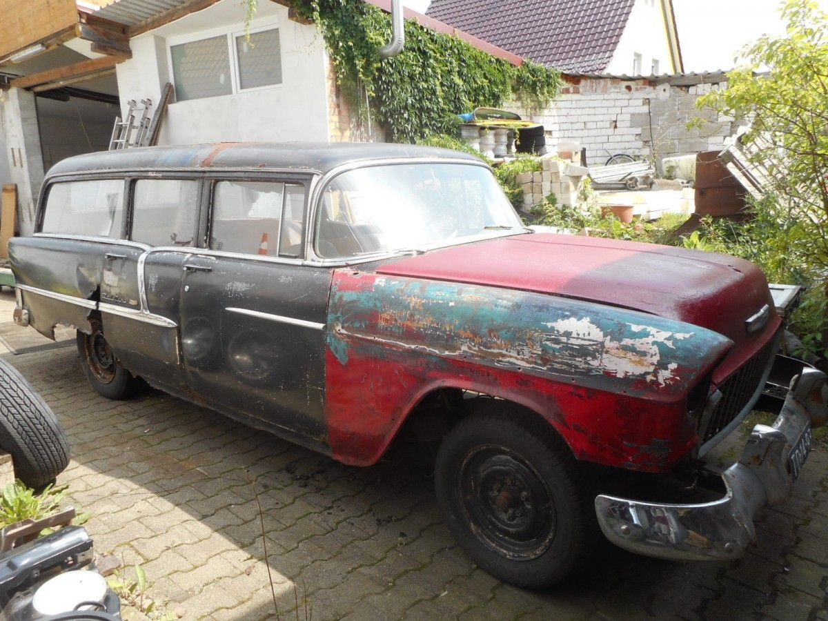 Mystery Find 1955 Chevrolet Bel Air Hearse 1955 Chevrolet