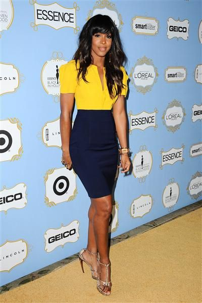 Kelly Rowland arrives at the sixth annual Essence Black Women in Hollywood luncheon on Feb. 21, 2013.