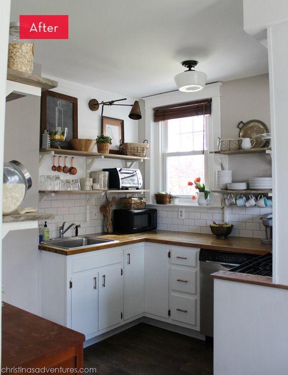 A Dark Kitchen Gets A Light Makeover Diy Kitchen Remodel Kitchen Design Kitchen Remodel