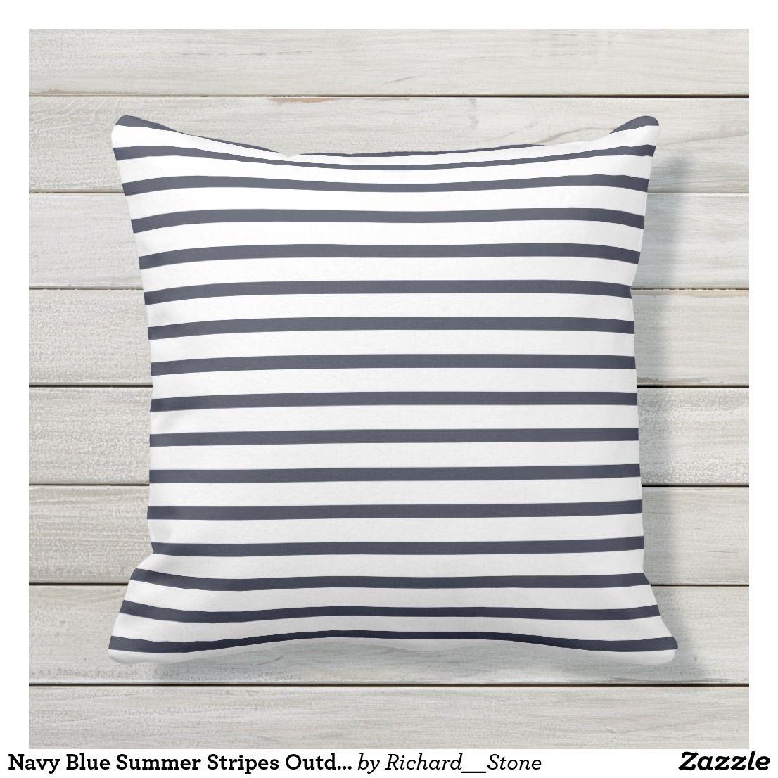 Stripes Outdoor Pillows