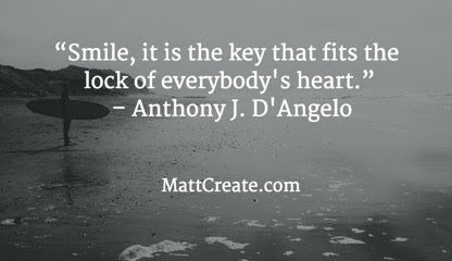 Quote of the Day  ★ Feel free to forward to friends! ★  #QuoteOfTheDay #Quote #qotd   #AnthonyJDAngelo #Inspirational #Happiness #Life