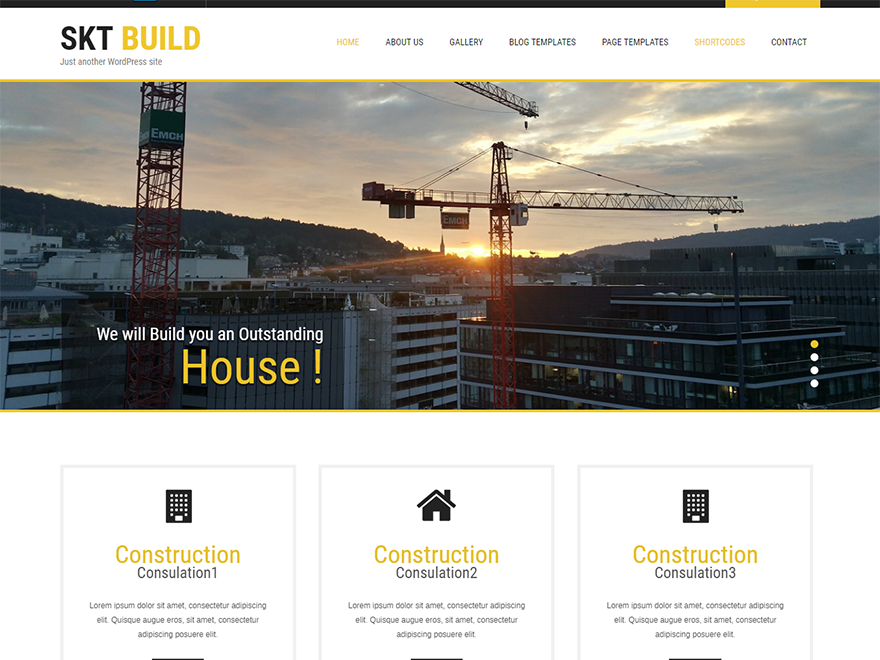 build lite free construction wordpress theme free construction