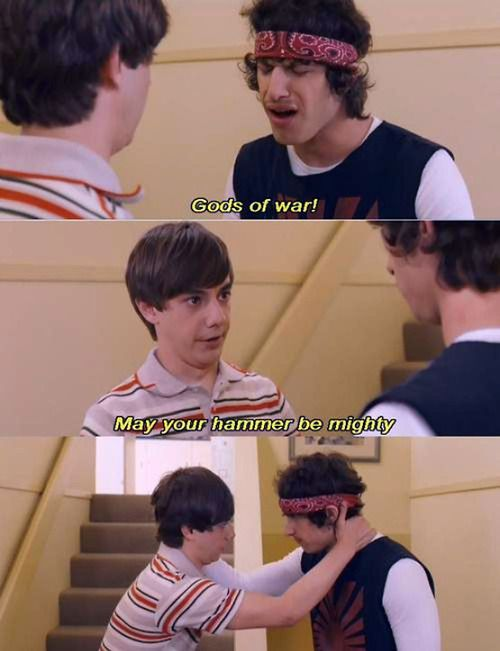 The 3rd Picture Just Yes Hotrod Movie Quotes Funny Hot Rod Movie Funny Movies