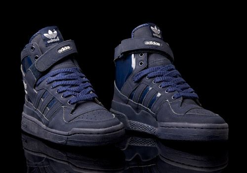 online store 81276 9aa86 Adidas Forum Hi (navy blue) from 1996