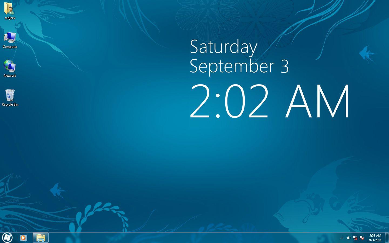 Clock Live Wallpaper Windows 10 WallpaperSafari Clock