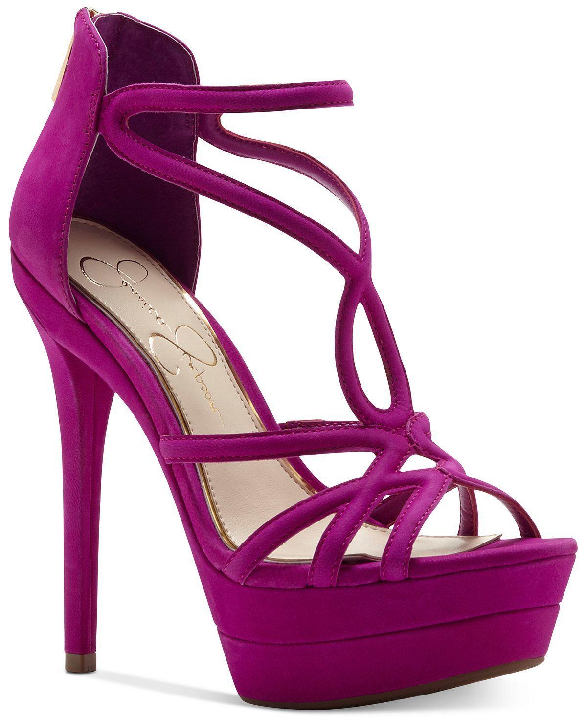 ebd8084b0828 Jessica Simpson Rozmari T-Strap Platform Sandals - Sandals - Shoes - Macy s   tstrapshoes