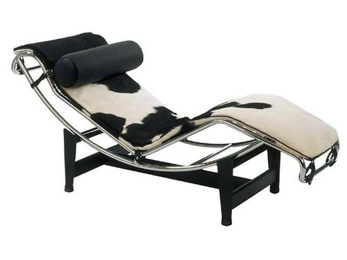 Adjustable Chaise In Pony Modern Leather Lounge Chair Leather Lounge Leather Lounge Chair