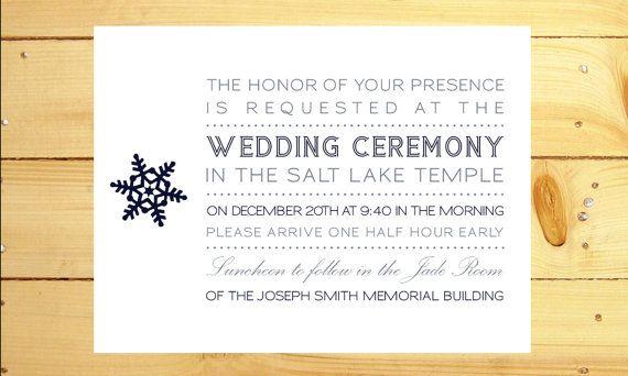 Printable Temple Sealing Luncheon Invitation Katies
