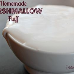 Homemade Marshmallow Fluff - Table for Seven | food for you & the family