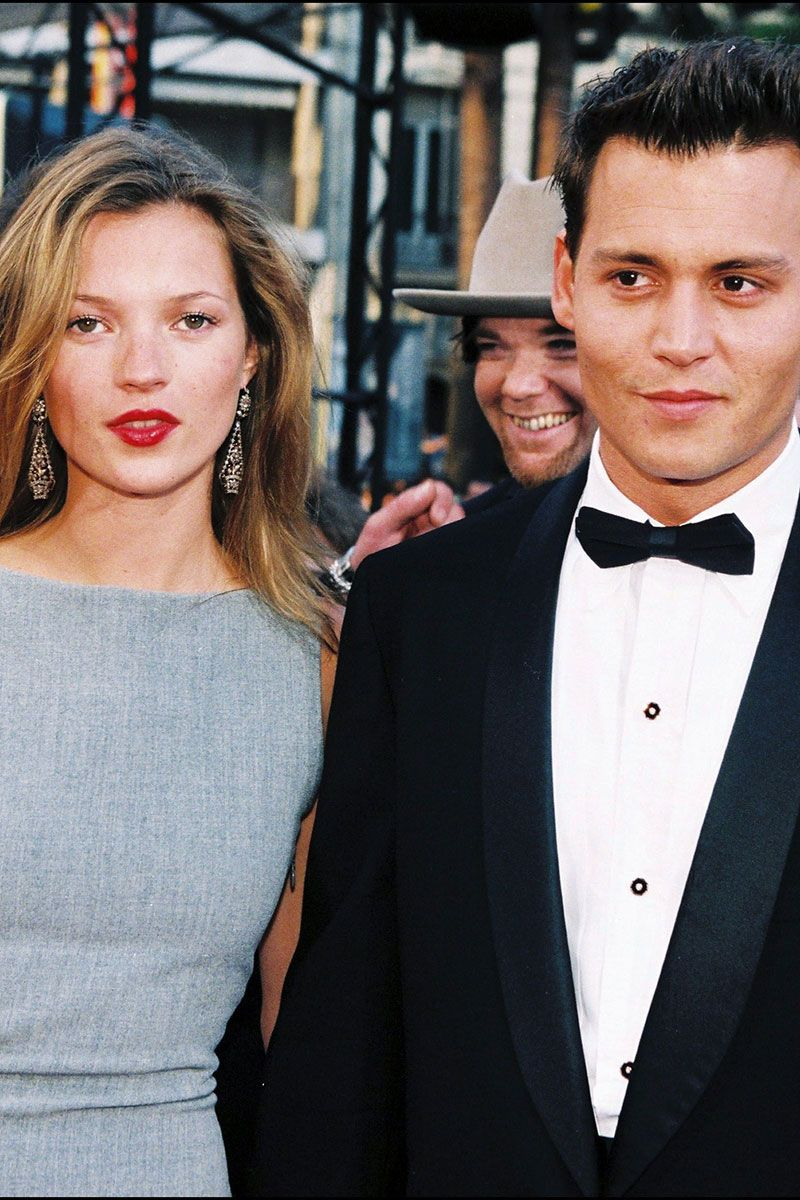13 rarely seen photos of johnny depp and kate moss kate. Black Bedroom Furniture Sets. Home Design Ideas