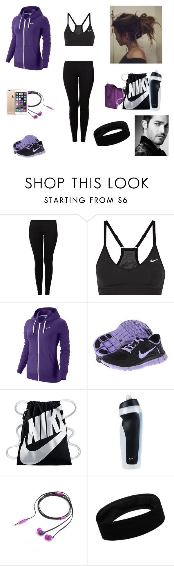"""The Twin Alpha's #8"" by jazmine-bowman on Polyvore featuring NIKE and Nicole Miller"