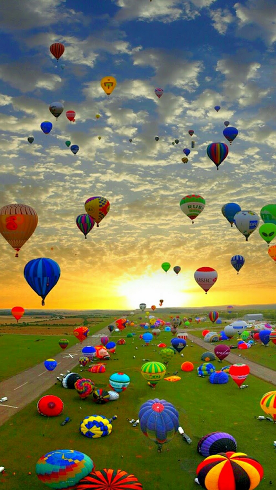 Hot Air Balloons — Galicia, Spain — from Google+ Air