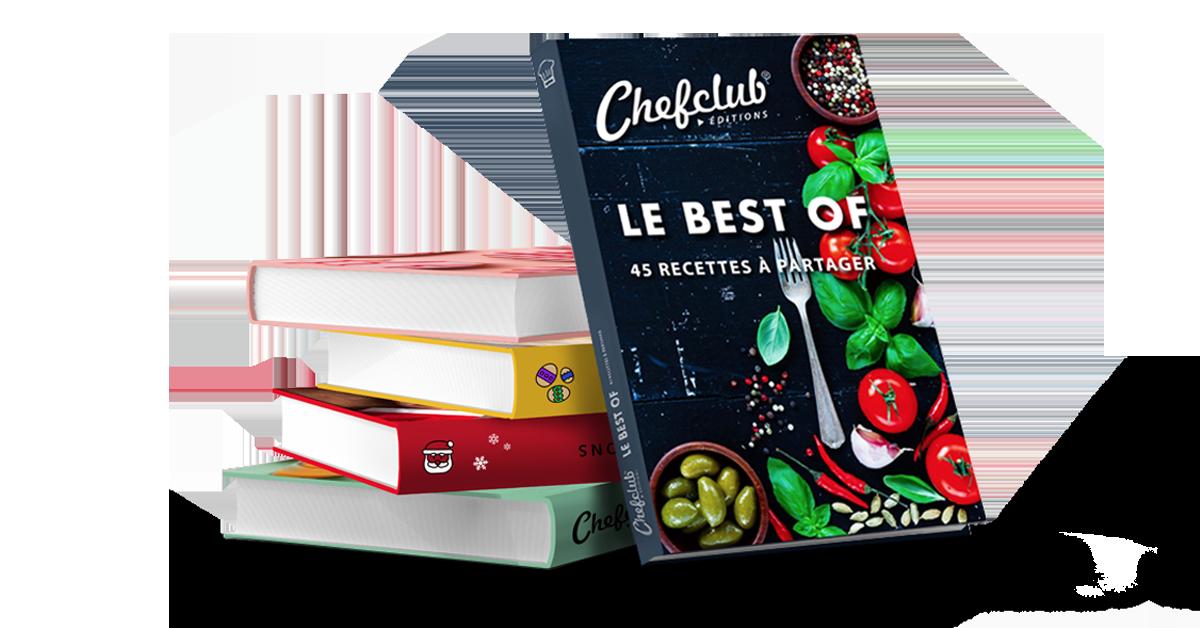 Le Livre Chefclub 45 Recettes Best Of Cookies En 2019