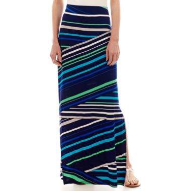 61e4a73e17 a.n.a® Side-Slit Maxi Skirt found at @JCPenney | Work Clothes ...