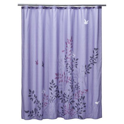 Avery Shower Curtain Target May Be A Little Too Purple For The