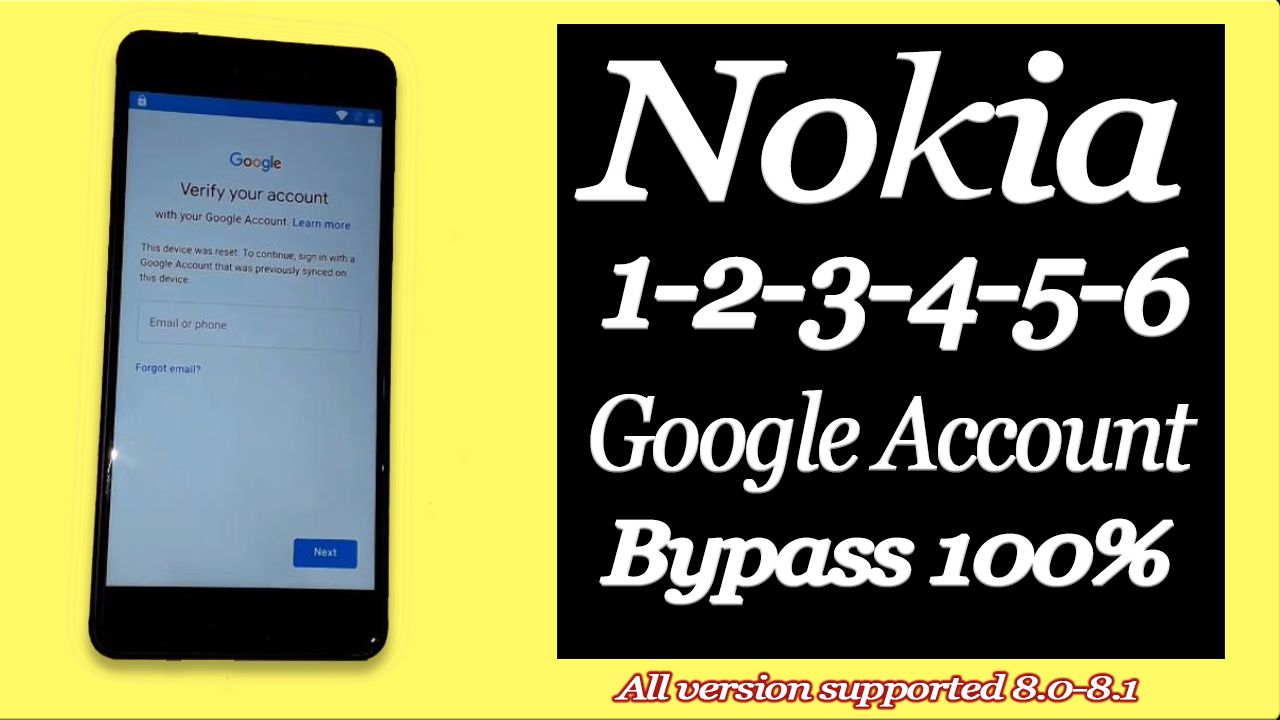 Complete video guide: how to unlock Nokia google account