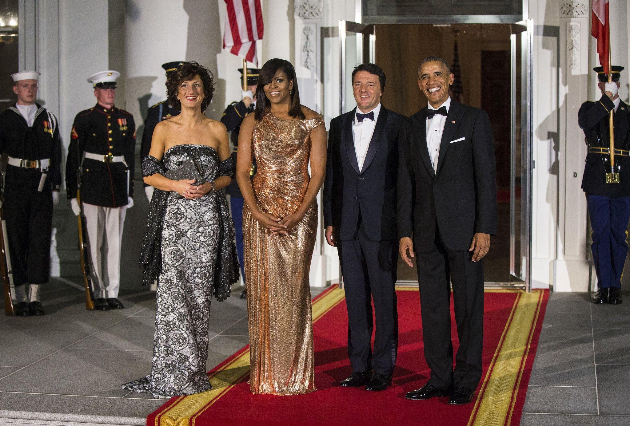 Michelle obama s state dinner fashion