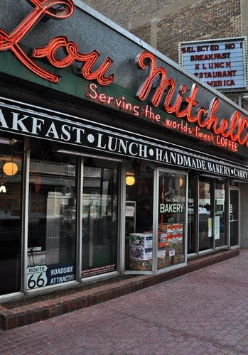 Lou Mitchell S Diner Right Down From Tim S Work
