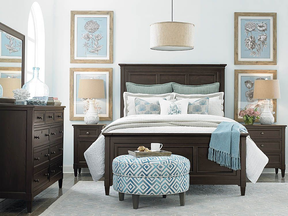 commonwealth panel bed  coastal bedroom furniture beach