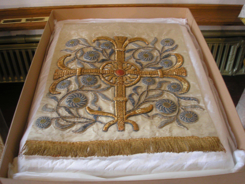 Exhibition all saints church leek decorative tray