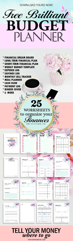 free printable budget planner 2018