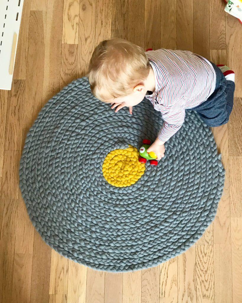 realiser un tapis en laine sans