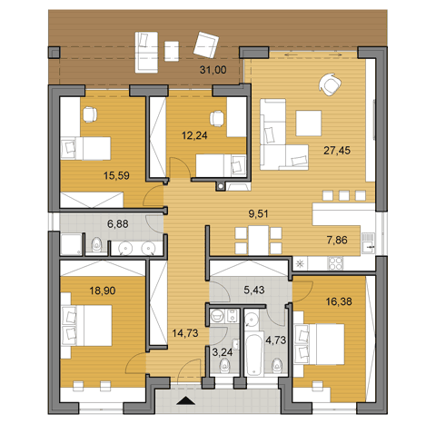 House Plans Choose Your House By Floor Plan Djs Architecture House Plans Small House Floor Plans My House Plans