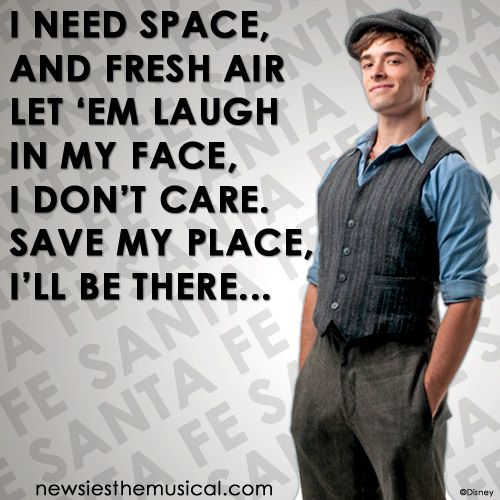 Corey Cott In Newsies On Broadway. Sad Face To Lose Jeremy