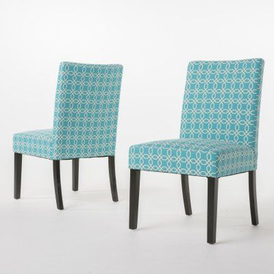 92283725ebab Best Selling Home Rose Upholstered Dining Chair - Set of 2 Blue / White -  298338