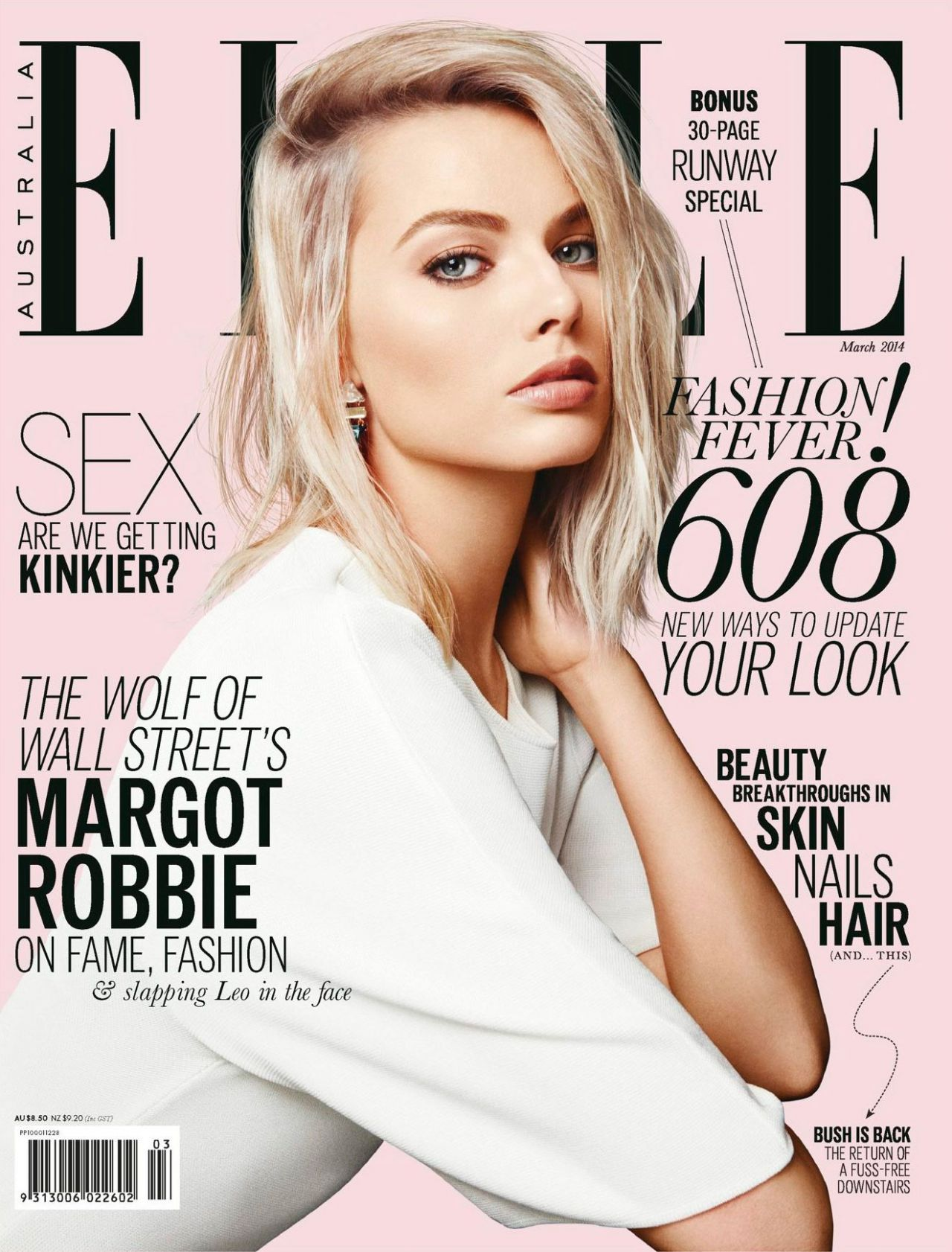 Elle Magazine Covers Margot Robbie Elle Magazine