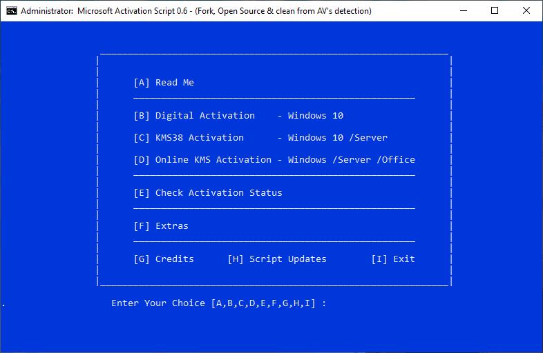 Microsoft Activation Script - Microsoft Activation Script