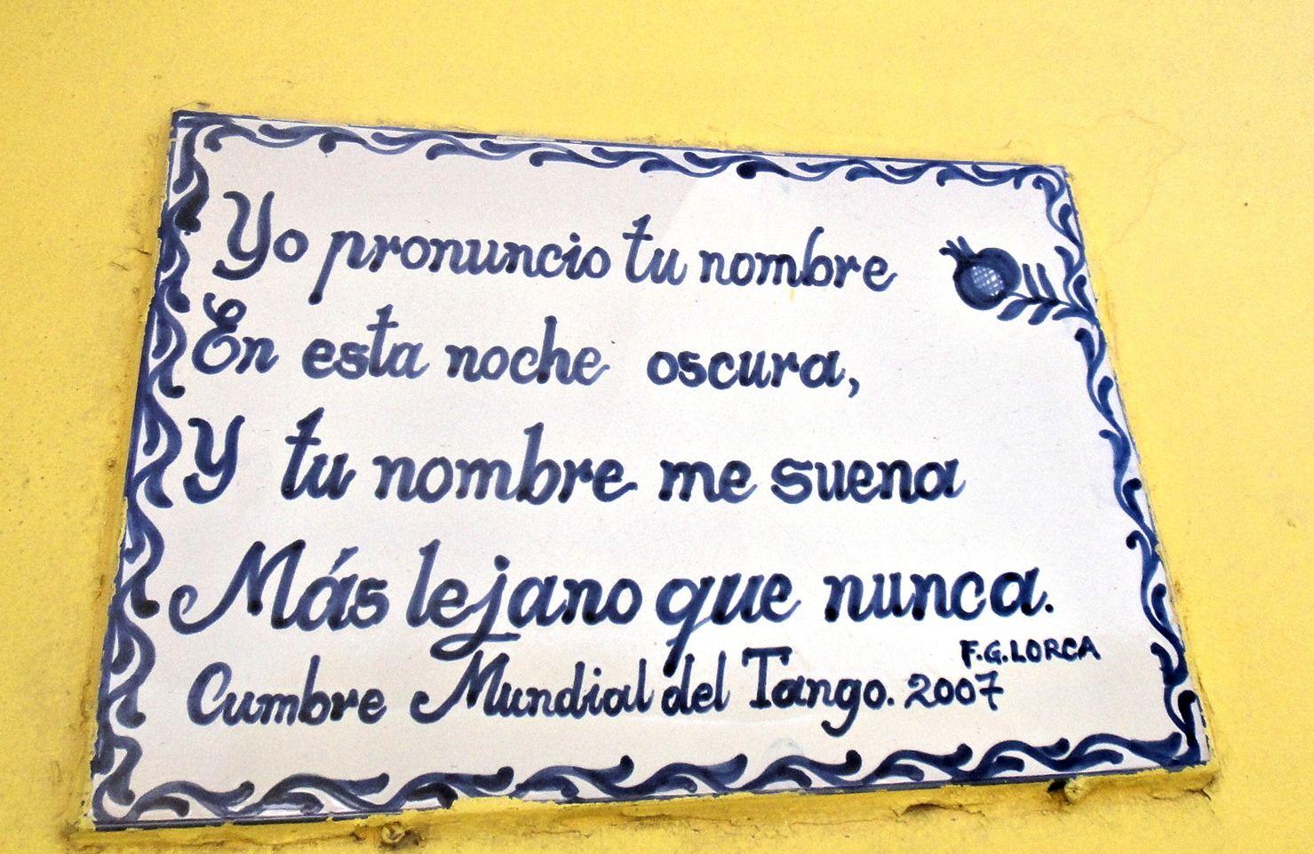 Federico Garcia Lorca -Valparaiso, Chile