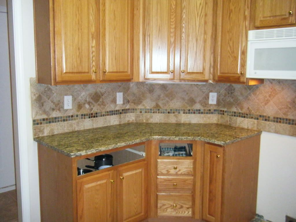 Granite Countertop Ideas And Backsplash Image Review