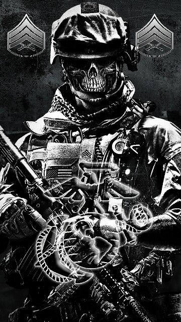 Lockscreen To My Note 4 Military Ghost Soldiers Military Art