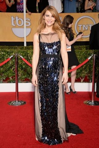 Claire Danes in Vionnet http://fashionallovertheplace.blogspot.it/2014/01/20th-sag-awards-best-dressed.html