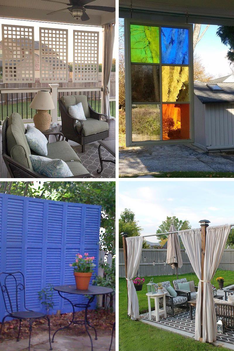 20 outdoor patio privacy screen ideas diy tutorials