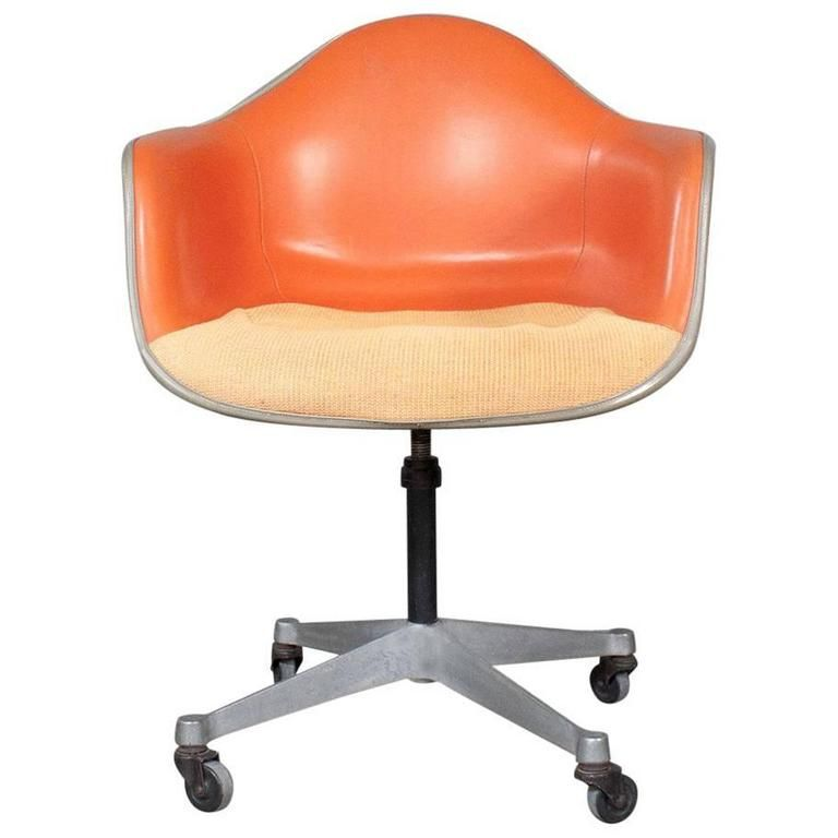 eames h. miller desk chair on wheels | modern office chairs