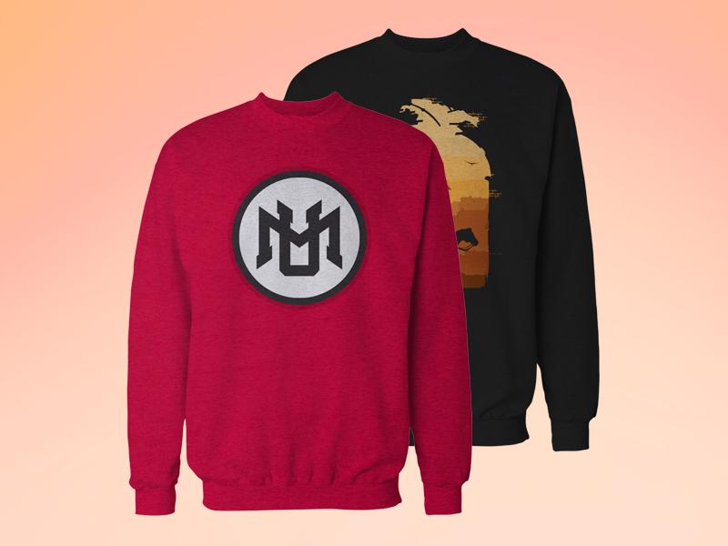 Download Crew Neck Sweatshirt Mockup Free Hoodie Mockup Shirt Mockup Creative T Shirt Design