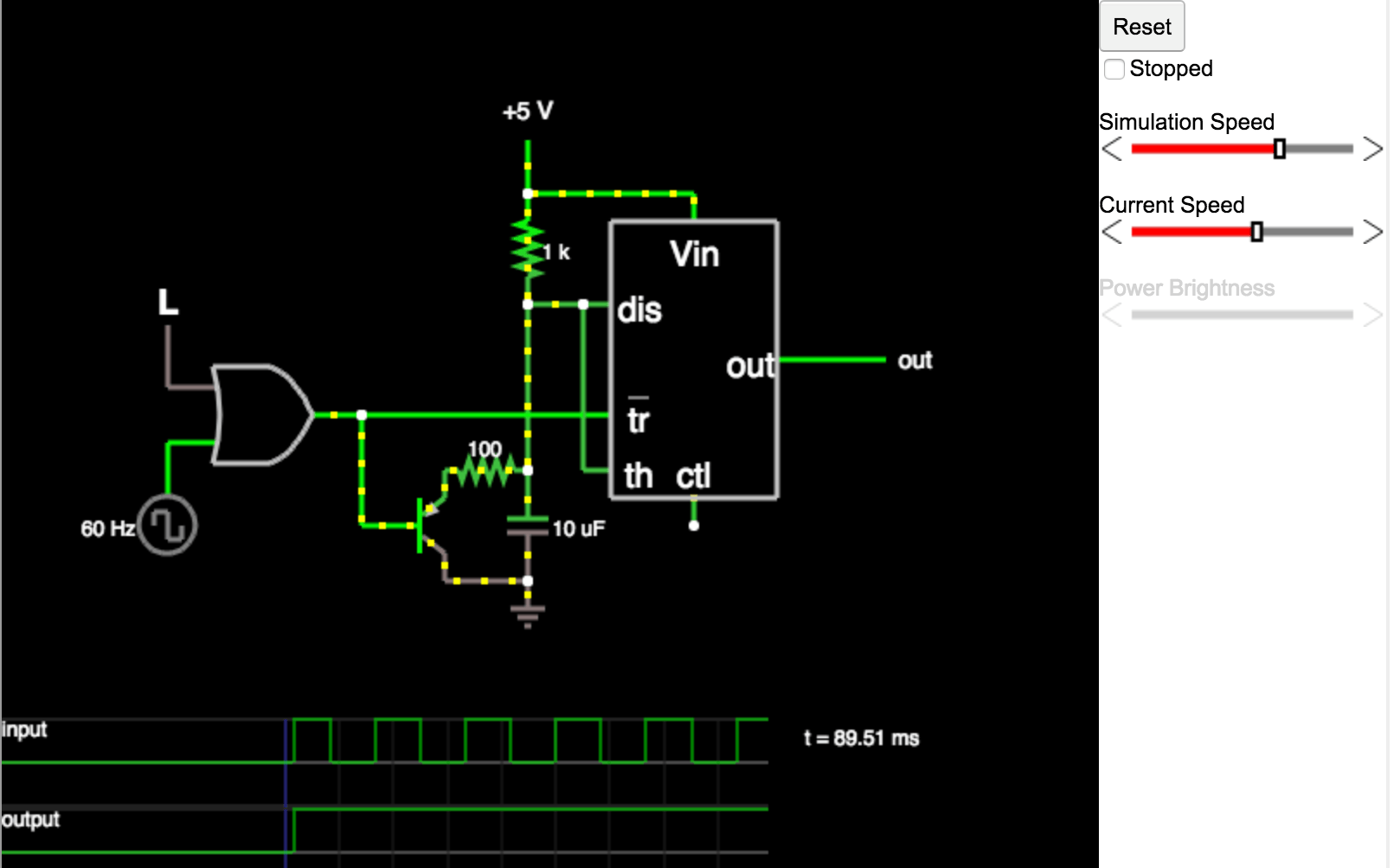 Design Circuits Easily With Web Based Circuit Simulator Projects Electronic For Kids Free Electronics Paul Falstad Created A Applet That Helps You Visualize Unlike Similar Apps This One Runs In The Browser