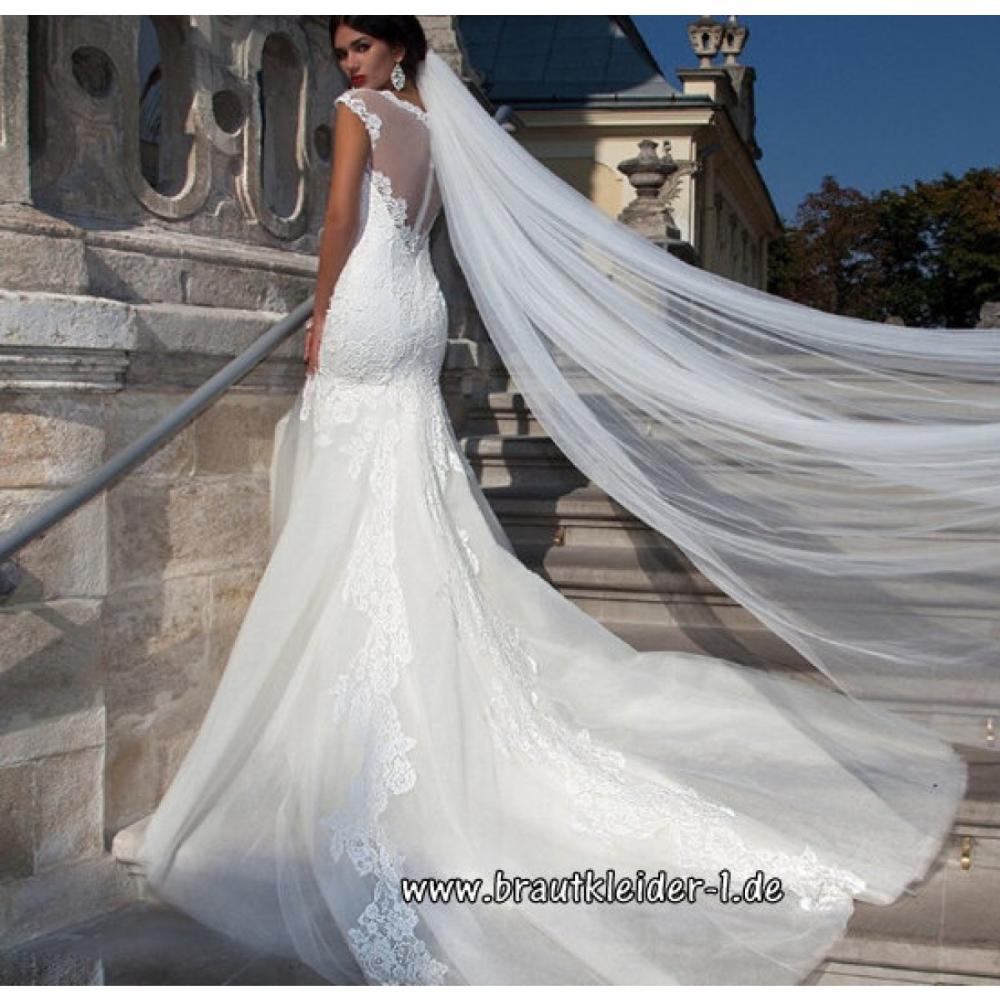 3 Meter Schleier Kathedrale Brautschleier Weiß Elfenbein Applikationen Hochzeit