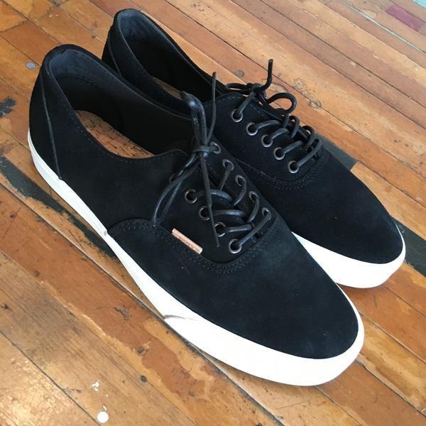 0e7dbb0614cd37 Vans VANS ERA DECON CA RAW SUEDE (BLACK)   80.00