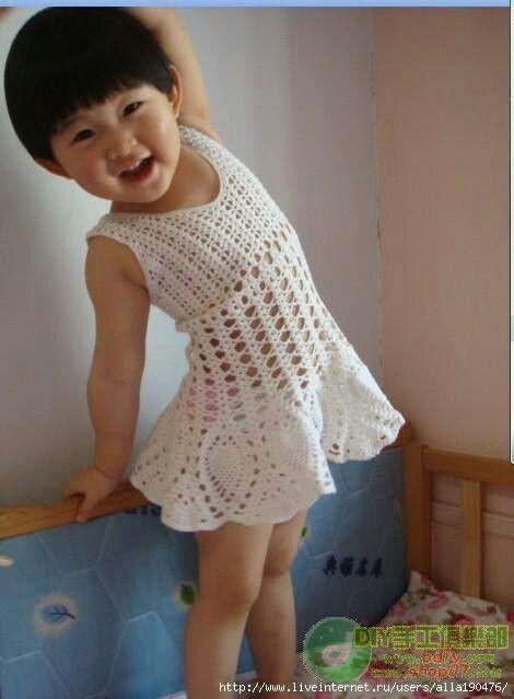 Vestido Crochet Pinterest Crochet Free Pattern And Crochet Crafts