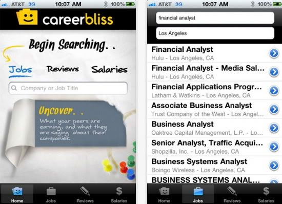Top Five Free Iphone Apps For Job Searching Via Apple Gazette Job Search Iphone Apps Free Iphone Apps