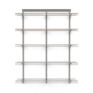 Closetmaid S Shelftrack Standard And Bracket System Allows