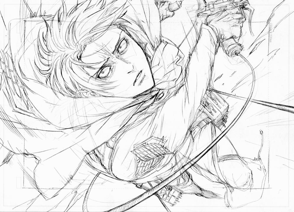 Levi Ackerman (Rivaille) Shingeki no Kyojin / Attack on