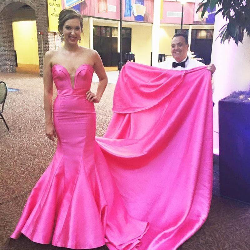 Charming Prom Dress,Long Mermaid Pr   Vestiditos