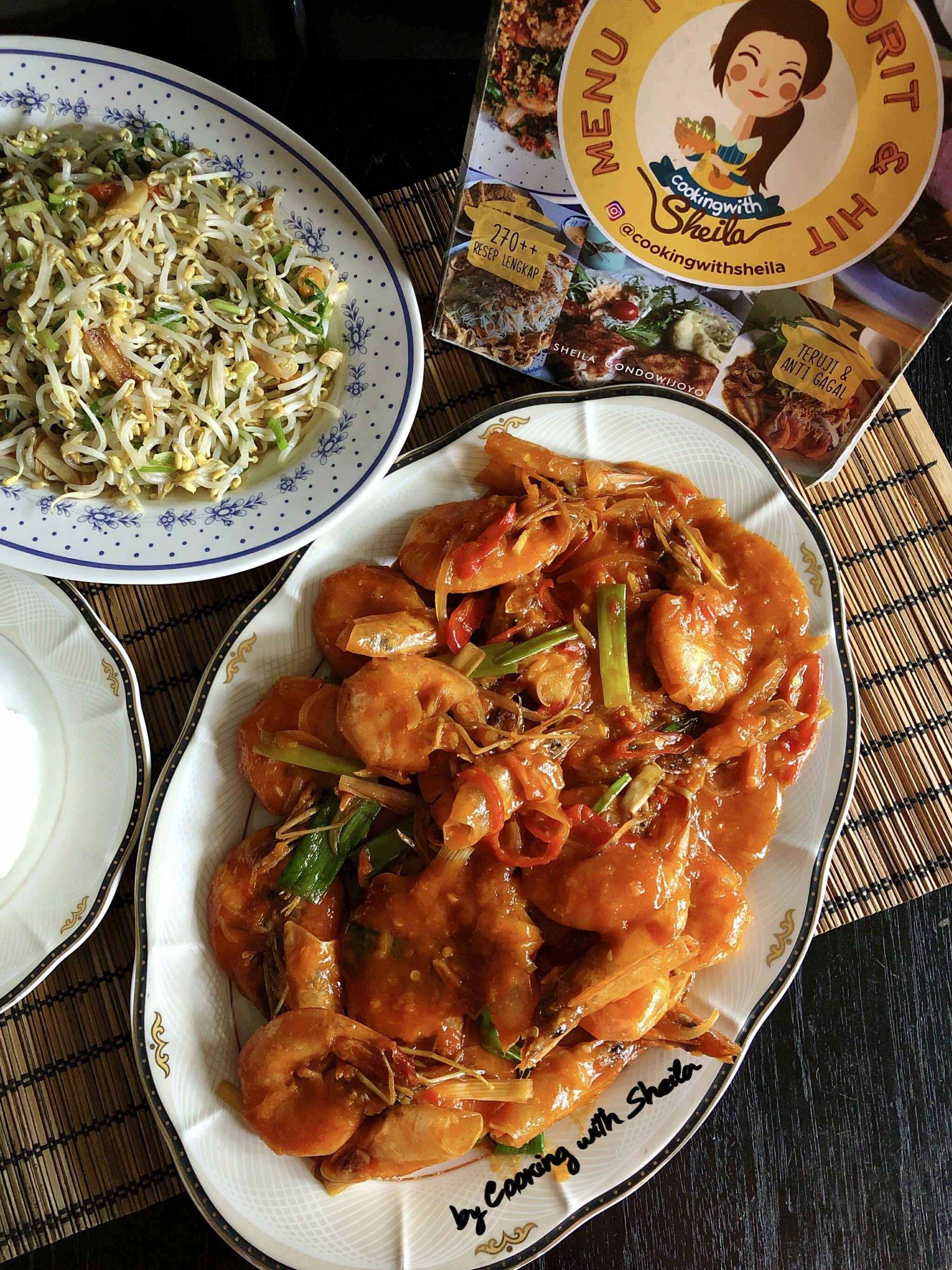 Udang Saus Padang Resep Seafood Resep Makanan Resep Masakan Indonesia
