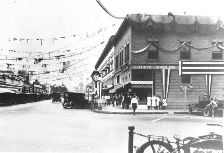 Orange California 1920 Ca History Orange County Orange County California